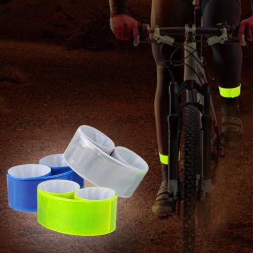 Reflective Strips Running Leg Strap Safety Warning Night Reflective Tape