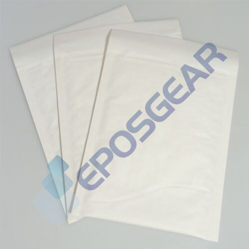 25 Medium E//2 265mm x 220mm White Bubble Padded Post Bags Envelopes
