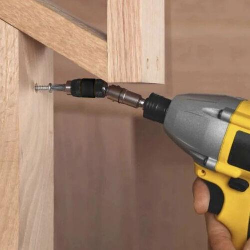 Steel Impact Magnetic Pivoting Bit Tip Holder Swivel Screw Drill Accessory Tool