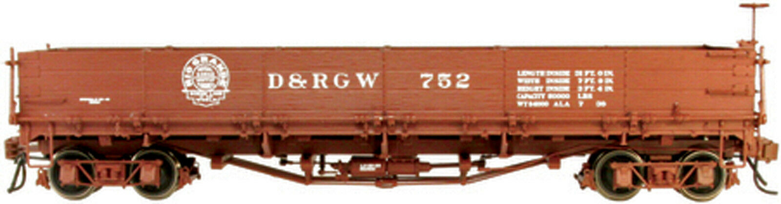 Serie D & RGW 700 descapotable 752 on3 on30 on30 on30 RTR sjc752 655