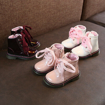 Unisex Baby Children Warm Boys Girls Martin Sneaker Boots Kids Baby Casual Shoes