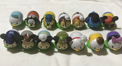 Disney Tsum Tsum Choco Egg Mini Figure Full Complete set Puzzle Rare Furuta