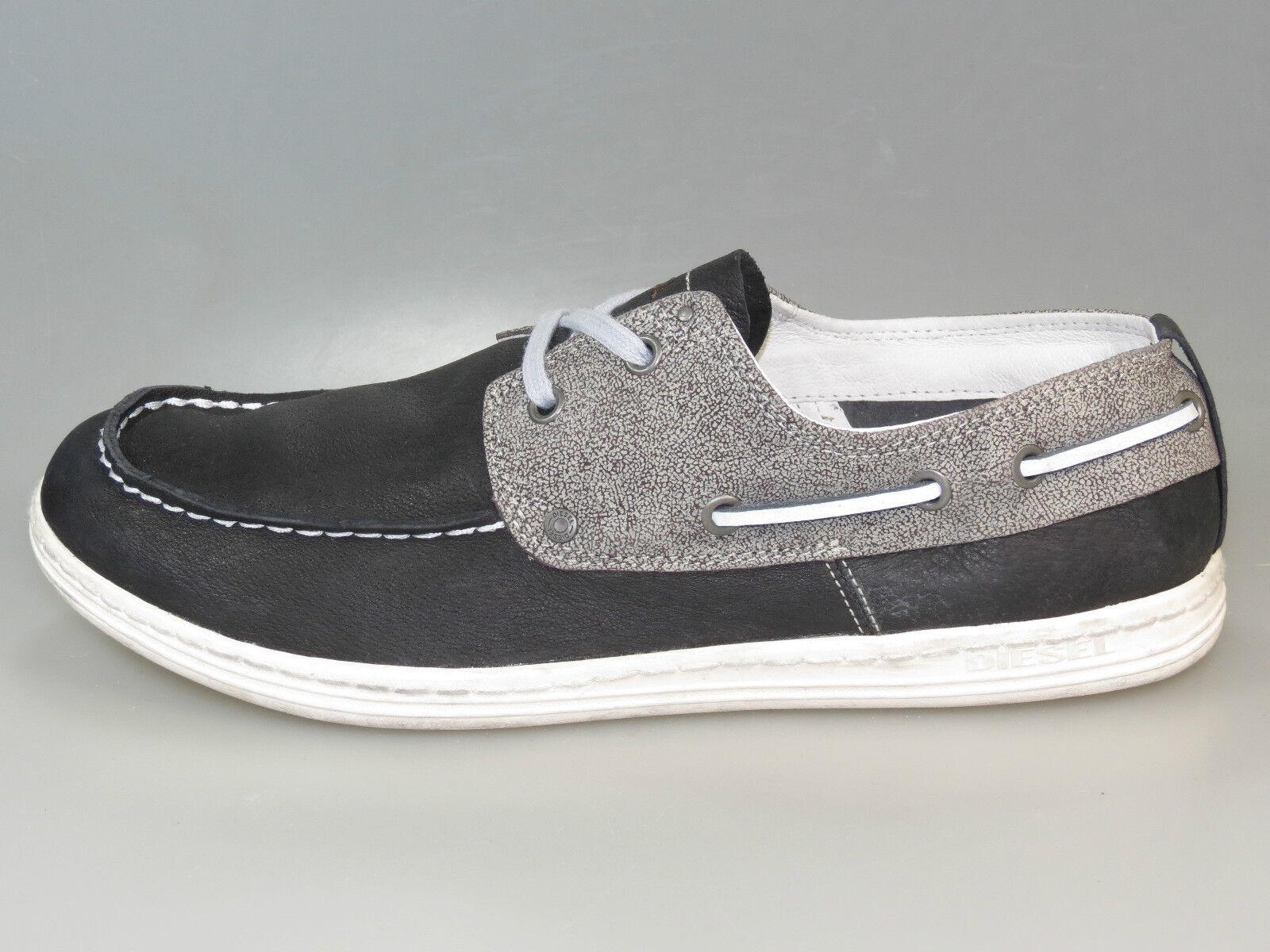 Diesel Schuhe TROPICAL 00YE28 PS046 T2180 MUDD Leder +Neu+ Größe 44 & 45 & 46