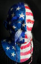"Silicone Mask ""American Viking Thomas"" HandMade Halloween High Quality Realistic"