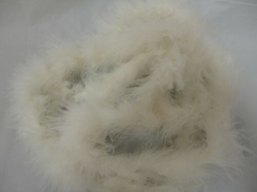 2 yards feather boa FuFu; Pack of 2 Pieces 15g