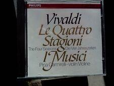 I MUSICI - LE QUATTRO STAGIONI - VIVALDI - CD CON PICCOLI SEGNI EX