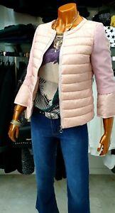 info for f7e0f 82b9b Dettagli su Donna Piumino 100 grammi corto avvitato rosa outwear coat  Jacket mod.colmar