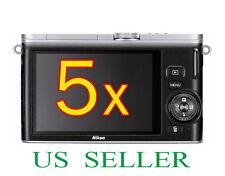 5x Clear LCD Screen Protector Guard Cover Film For Nikon 1 J3 Digital Camera