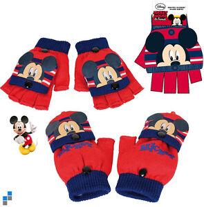 Premium-Disney-Mickey-Mouse-Kinderhandschuhe-Winterhandschuhe-Handschuhe-NEU