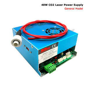 Details about 40W Power Supply K40 CO2 Laser Engraver Cutter 110V/220V  H-wire Express Free