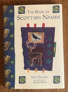 THE-BOOK-OF-SCOTTISH-NAMES-BY-IAIN-ZACZEK-NEW-2007