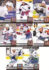 13/14 2013-14 Upper Deck AHL Autograph Auto Phil Varone #66 Sabers