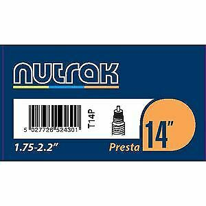 environ 5.40 cm PRESTA Tube Intérieur Noir Nutrak 14 X 1.75-2.125 in
