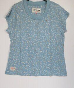New-Brakeburn-Blue-Floral-Print-Summer-Holiday-T-Shirt-Size-10-18