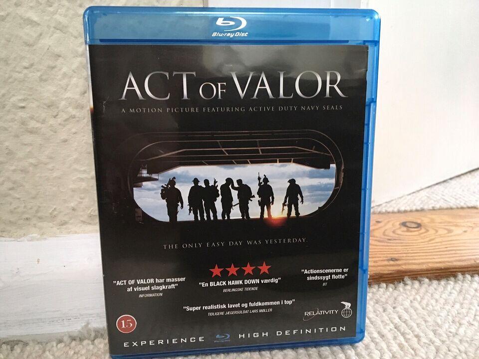 ACT OF VALOR, instruktør SCOTT WAUCH / MOUSE McCOY, Blu-ray