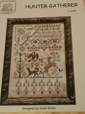 Leeds House Sampler Rosewood Manor Cross Stitch Pattern