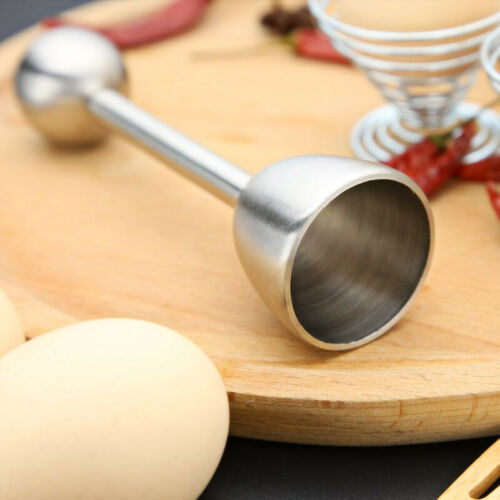 Edelstahl Eierschalenbrecher Eierköpfer Eieröffner Separator Eierschalenöffner