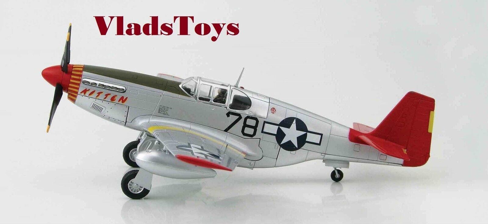 Hobby Master 148 P-51C Mustang Tuskegee aviadores gatito Charles McGee HA8507B