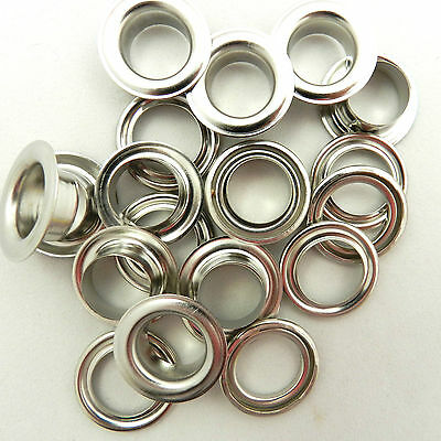 10 eyelets gold bronze silver black 14mm 11mm 8mm 5mm & 4mm  TOOL AVAILABLE TOO