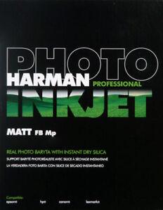 Harman-A3-310gsm-Matt-FB-MP-50-Sheets-Inkjet-Photo-Paper