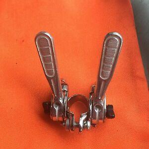 Vintage-NOS-Shimano-Road-Bike-Shifters-Retro-10-amp-12-Speed-Bikes