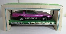 ERTL MOTORIZED CORVETTE DIE CAST 1:16 SCALE NRFB