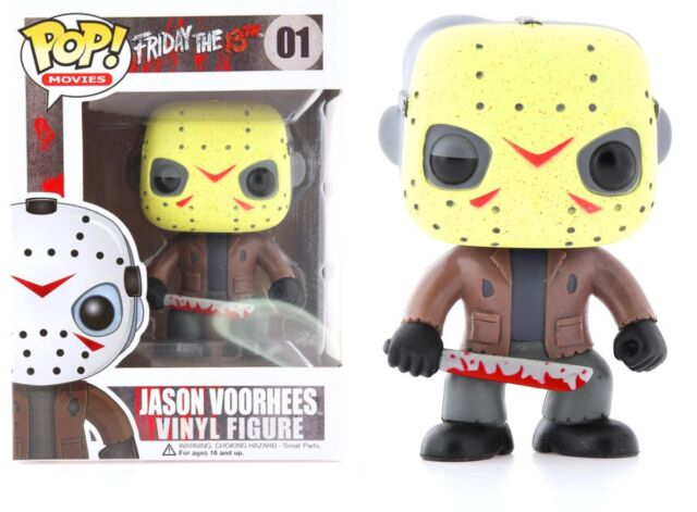 Funko Pop Movies: Friday the 13th - Jason Voorhees Vinyl Figure #2292