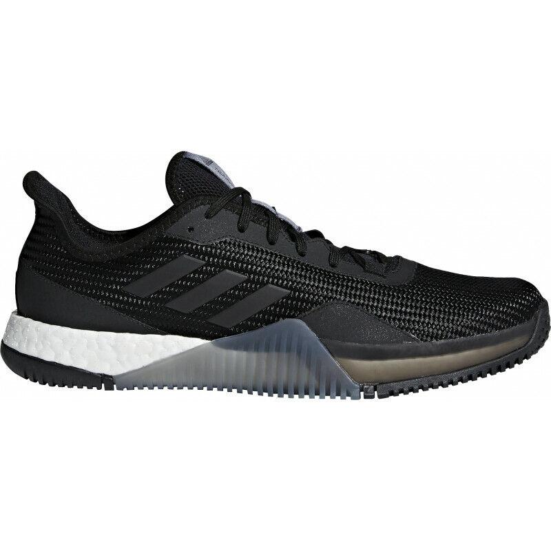 Para Hombre Adidas Crazytrain Elite Boost Para hombre Zapatillas De Entrenamiento-Negro 1