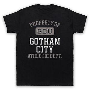Batman Property of Gotham City Kids /& Adults HD302 Unisex Grey T-Shirt