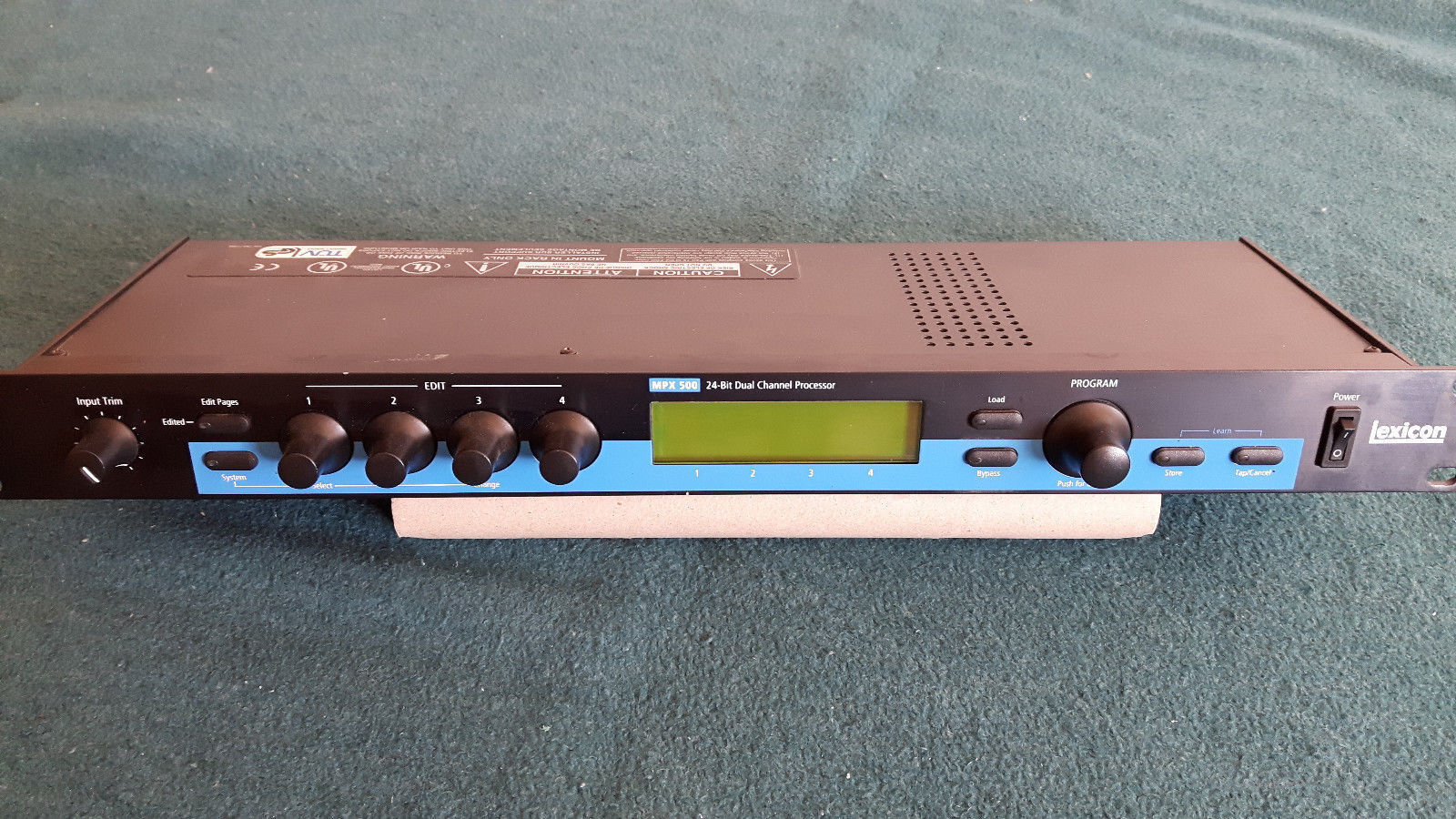 Lexicon MPX 500 -  Digital Multi FX  - As New - 2 3 - with manual