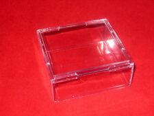 ~3 Stackable Display Cube Holder Case For Ammonite Goniatite Meteorite Tektite