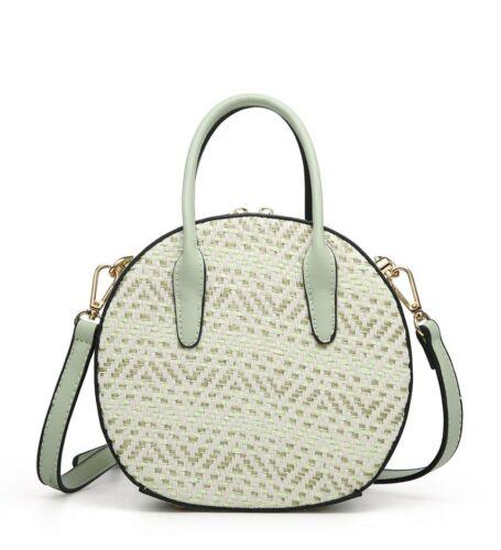 New Womens Gorgeous Round Small Handbag Crossbody Messenger Sling Shoulder Bag