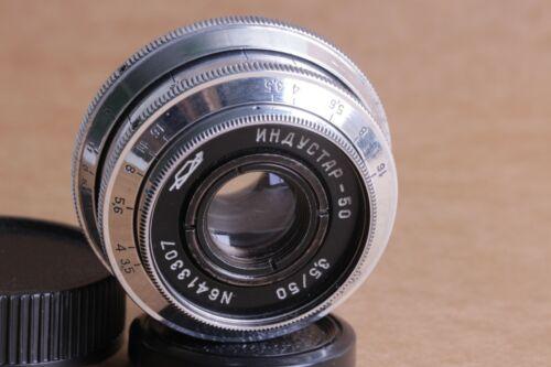 INDUSTAR-50 lens 50mm f//3.5 M39 for Zenit 3M KMZ Silver Russian