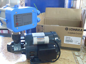 Elettropompa Lowara Pm16 Presscontrol Incluso Pompa Motore Acqua