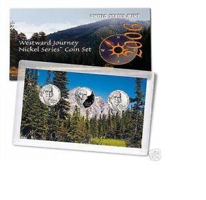 Image Is Loading 2006 WESTWARD JOURNEY NICKEL SERIES 3 COIN SET