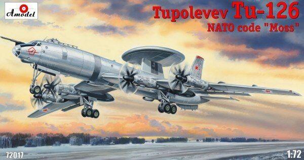 AMODEL 1/72 Tupolev tu-126  01772