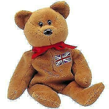 TY BRITANNIA THE BEAR BEANIE BABY RETIRED 1997 NEW