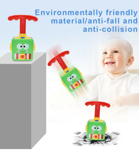 Fun Inertia Balloon Launcher /& Powered Set Car Toy Toys Gift For Kids Experiment
