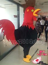 2017 Hallooween Lovely cock adult  Mascot Costume cartoon fancy dress  X'mas new