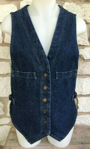 womens 50's or 60's Levis Big E  Denim Vest  VINTA