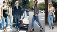 "Bnwt.Diesel FAYZA BOYFRIEND FIT jeans.INDIGO.w32"" L32""(fits uk 16).£198"