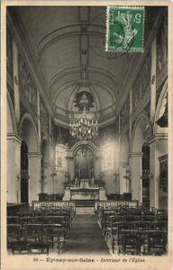 CPA EPINAY-sur-SEINE - Interieur de l'Eglise (124057)