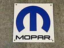 Mopar banner sign shop garage racing performance Dodge charger challenger SRT