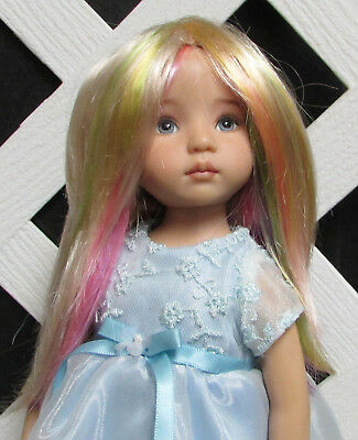 """Monique Gold Adorabel /""""Pixie/"""" Size 7//8 in PINK with bangs Doll Wig"""