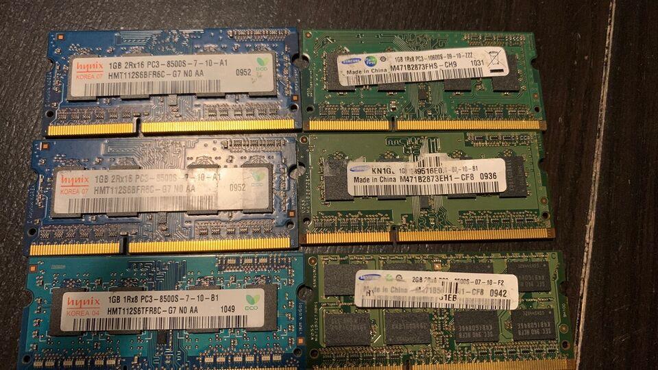 Andet mærke RAM - DDR3 - bærbar - laptop, Billigt, Perfekt
