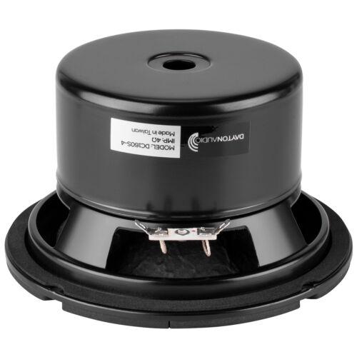 "Dayton Audio DC160S-4 6-1//2/"" Classic Shielded Woofer 4 Ohm"