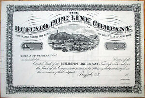1880-Oil-Stock-Certificate-039-Buffalo-Pipe-Line-Company-039-New-York