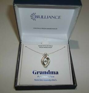 Brilliance-Pendant-Necklace-with-Swarovski-Crystal-Grandma-Gift-Box