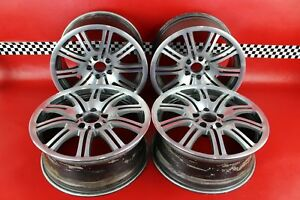 2001-2006-BMW-M3-E46-Set-of-4-19x9-5-034-Wheels-10-Spoke-Front-Rear-Staggered