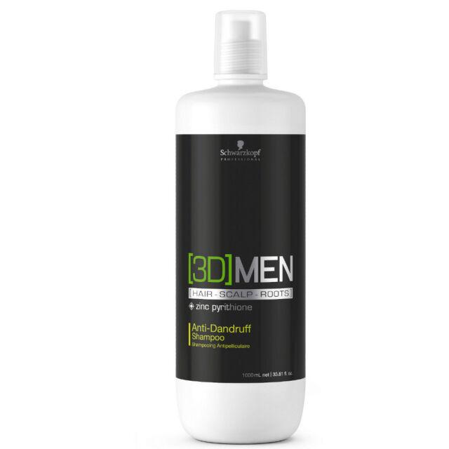 (17,99€/L) Schwarzkopf 3D MEN  Antischuppen Shampoo